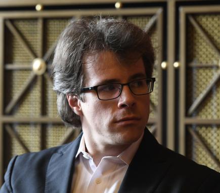 Dirigent Jakub Hrůša vystoupil 12. září v Praze na tiskové konferenci k uvedení Requiem Antonína Dvořáka na festivalu Dvořákova Praha.