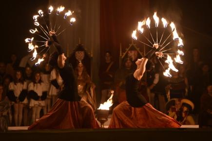 Nočním průvodem krále Jana Lucemburského byly ve Znojmě 15. září symbolicky zahájeny třídenní slavnosti Znojemské historické vinobraní.