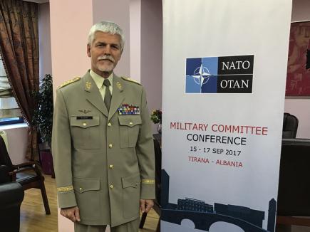 Vojenského výboru NATO generál Petr Pavel.