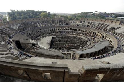 Římské Koloseum.