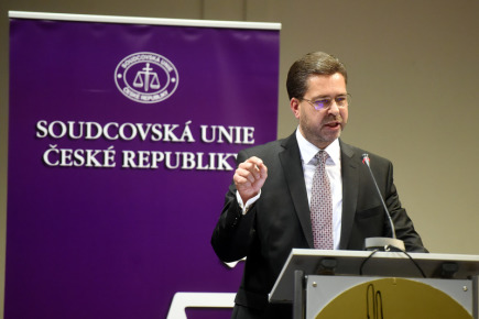 Místopředseda Nejvyššího soudu Roman Fiala vystoupil 6. října v Ostravě na sněmu, na kterém si Soudcovská unie ČR zvolí nové vedení.