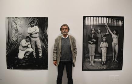 Fotograf Pavel Baňka (na snímku) vystoupil 9. října na tiskové konferenci ke své výstavě s názvem Blízkost v pražském Domě fotografie. Výstava je k vidění do 7. ledna příštího roku.