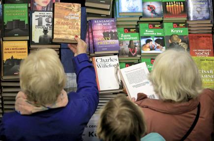 V Havlíčkově Brodě začal 20. října dvoudenní 27. ročník Podzimního knižního veletrhu.