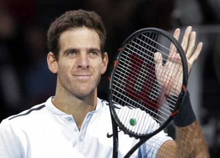 Argentinský tenista Juan Martin del Potro.