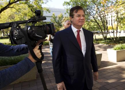 Bývalý šéf volebního štábu Donalda Trumpa Paul Manafort.