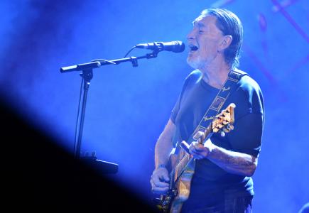 Britský kytarista a zpěvák Chris Rea vystoupil 7. listopadu v pražském Kongresovém centru.