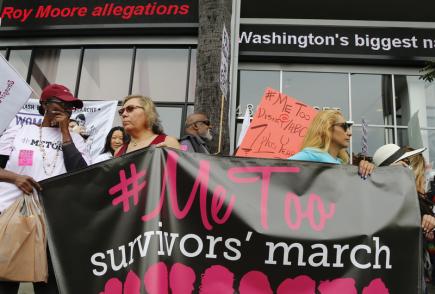 """Osobností roku podle časopisu Time se letos stali všichni ti, kdo """"prolomili mlčení"""" a připojili se ke kampani proti sexuálnímu obtěžování #MeToo."""