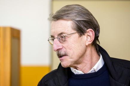 Bývalý senátor Jiří Hlavatý (nezávislý za ANO).