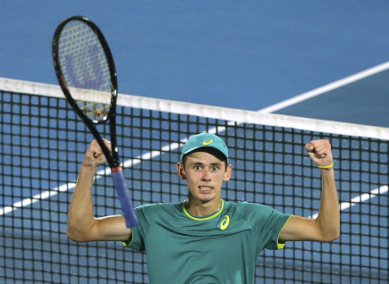 Australský tenista Alex De Minaur.