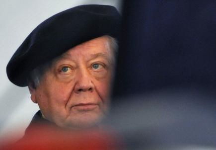 Ruský režisér a herec Oleg Tabakov (na snímku z 21. října 2008).