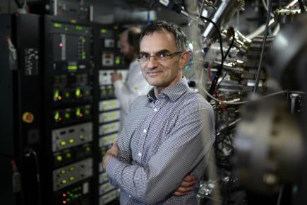 Na snímku z 14. března 2018 je vedoucí oddělení spintroniky a nanoelektroniky AV ČR Tomáš Jungwirth.