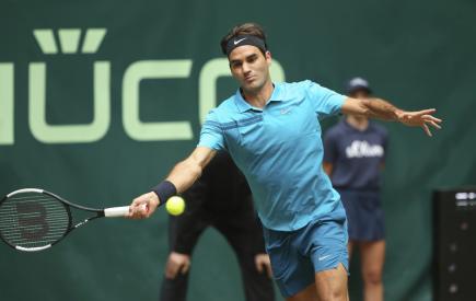 Švýcarský tenista Roger Federer.