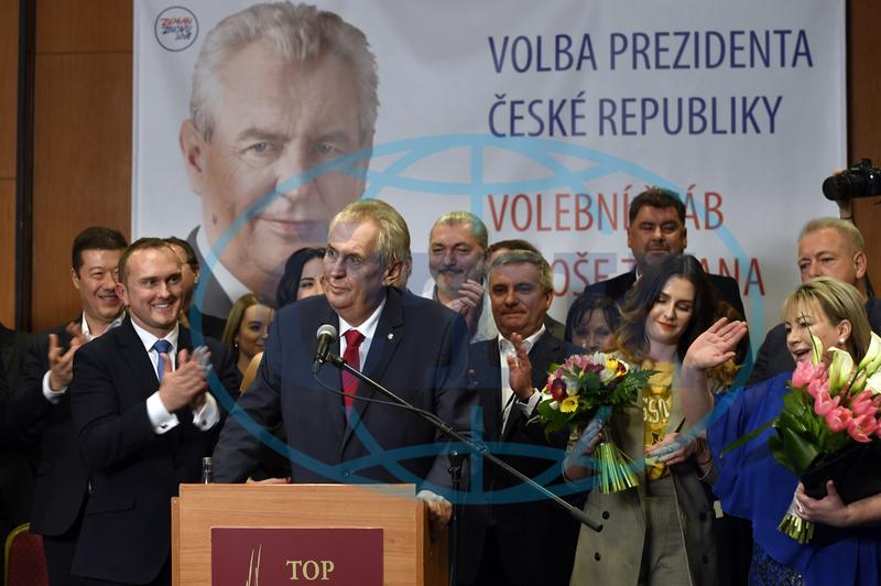 Foto Prezident Milos Zeman Hovori Na Tiskove Konferenci