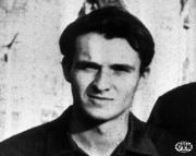 Jan Palach, student filozofické fakulty UK, který se 16.1.1969 upálil na Václavském náměstí v Praze.