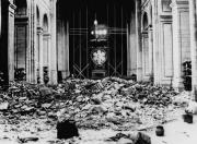 Trosky katedrály ve francouzském městě Verdun, v jehož okolí probíhala jedna z nejkrvavejších bitev první světové války.