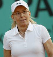 Americká tenistka českého původu Martina Navrátilová.