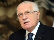esk prezident Vclav Klaus.