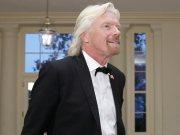 Miliardář Richard Branson.