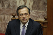 Ilustran foto - eck premir Antonis Samaras.