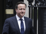 Britsk premir David Cameron.