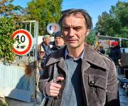 Režisér Jiří Strach natáčel 5. října v Brně film s názvem Osmy. V hlavní roli snímku situovaného do 70. a 80. let 20. století se objeví Ivan Trojan (na snímku).
