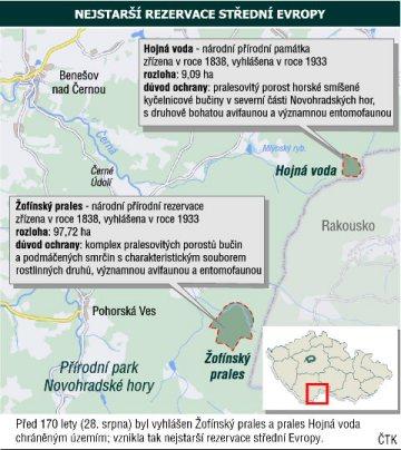 Nejstarší rezervace střední Evropy - Žofínský prales a Hojná voda