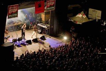 Rockový festival Kvílení v Lipnici nad Sázavou