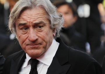 Americký herec Robert De Niro na filmovém festivalu v Cannes.