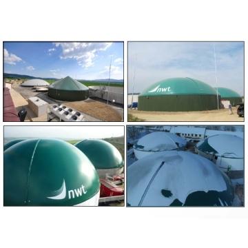 NWT a.s. v roce 2012 postavila čtyři bioplynové stanice