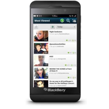 Keek spouští sociální video aplikaci pro BlackBerry