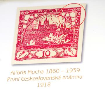 V Praze byly představeny 30. dubna vizuální motivy Českého olympijského týmu pro XXII. zimní olympijské hry v Soči 2014. Sportovci budou nosit oblečení se vzorem inspirovaným první československou poštovní známkou z dílny malíře Alfonse Muchy.