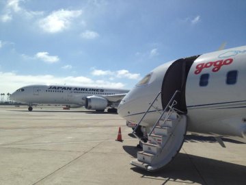 Firma Gogo navázala spolupráci s japonskými aerolinkami