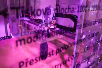 Na strojírenském veletrhu byla představena unikátní 3D tiskárna