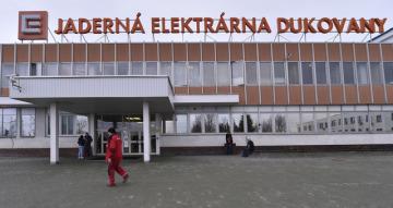 Jaderná elektrárna Dukovany představila 2. února zrekonstruovaný vstupní objekt. K lepšímu zabezpečení mají přispět nové vstupní turnikety, detekční systémy a další zařízení.