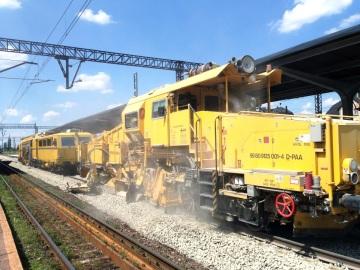 PORR: modernizace železniční tratě