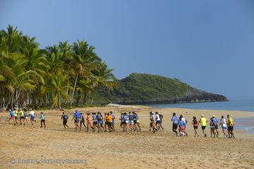 100 km del Caribe