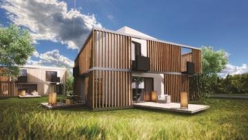 Komplex 20 energeticky úsporných rodinných domů vyroste v Dobříši, v těsné blízkosti brdských lesů