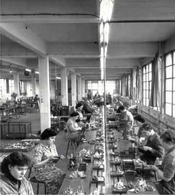 Kiekert Heiligenhaus, Německo, v prvních letech Foto: ots/Kiekert AG