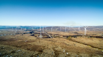 Větrná farma společnosti Mars ve Skotsku