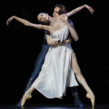 Světlana Zacharova spolu s předními sólisty a baletními umělci Velkého divadla zazáří v představení s názvem AMORE Foto: Alain Hanel