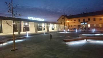 Otevření nového autobusového terminálu ve Strakonicích
