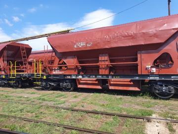 Vagon řady FACCS po modernizaci společností SMK, s.r.o., odštěpný závod