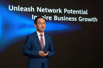 Ryan Ding, výkonný ředitel firmy Huawei a prezident společnosti Carrier BG