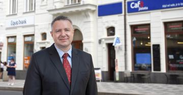 Předseda představenstva Pojišťovny VZP, Robert Kareš Foto: Kateřina Brožová