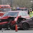 Nehoda automobilu - ilustrační foto.