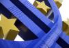 Ilustrační foto - Znak eura před sídlem Evropské centrální banky ve Frankfurtu nad Mohanem - ilustrační foto.