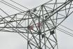 Stožár vysokého napětí, energie, elektřina - ilustrační foto