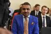 Ústavní soud na jednání 4. května 2018 v Brně zamítl stížnost podnikatele íránského původu Shahrama Abdullaha Zadeha (na snímku) proti pokračující vazbě.