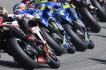 Závod mistrovství světa silničních motocyklů. Ilustrační foto.