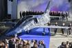 Ilustrační foto - Aero Vodochody představilo 12. října 2018 v areálu společnosti v Odolené Vodě u Prahy nový letoun L-39NG.